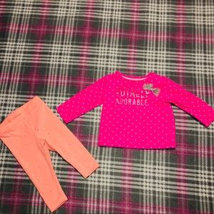 Totally Adorable Long Sleeve & Leggings Set